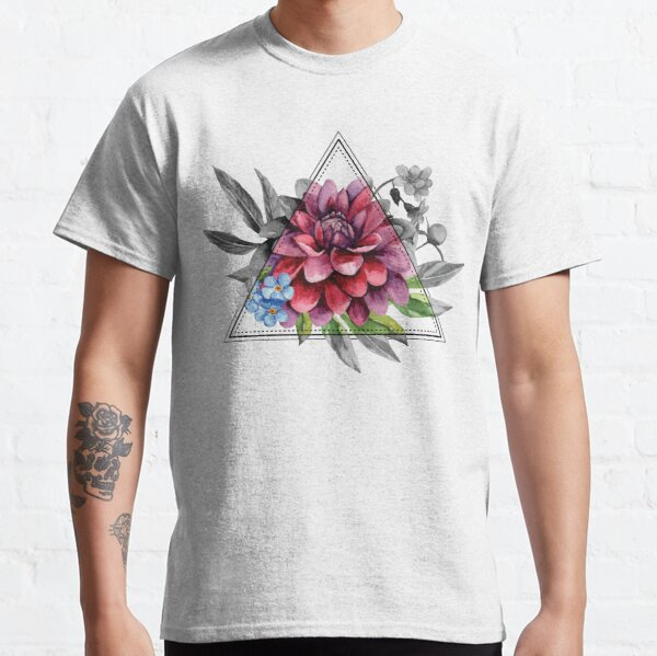 Geometric Dahlia Classic T-Shirt