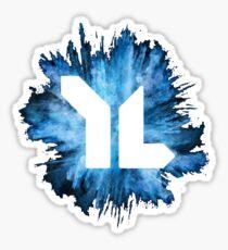 YL Explosion-Blue Sticker