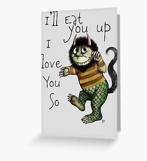 I'll Eat You Up Greeting Card