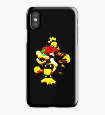Flaming Bowser iPhone Case/Skin