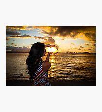 Luz del Mar Photographic Print