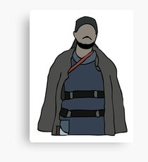 Omar The Wire Canvas Print