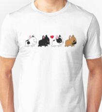Frenchie Family Slim Fit T-Shirt