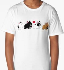 Frenchie Family Long T-Shirt