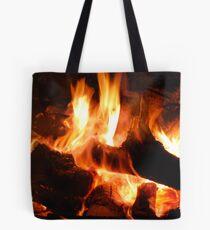 Fire of Gidgee Coals Tote Bag