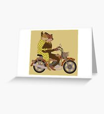 Fantastic Ride Greeting Card