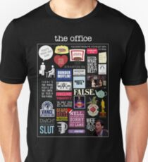 The Office   Elements   Quotes T-Shirt