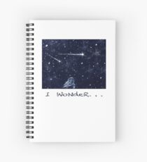 Night Sky, I Wonder Spiral Notebook