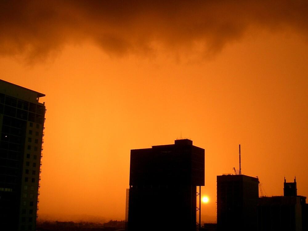 Stormy Orange by Bianca Smart