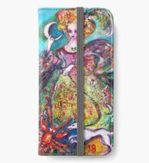 TAROTS OF THE LOST SHADOWS / THE MOON LADY iPhone Wallet