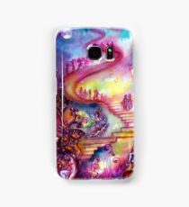 GARDEN OF THE LOST SHADOWS / MYSTIC STAIRS  Samsung Galaxy Case/Skin