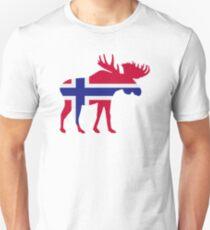 Moose elk norway T-Shirt