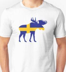 Camiseta ajustada Alce de los alces Suecia