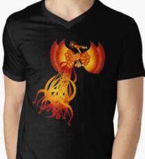 Sarimanok Mens V-Neck T-Shirt