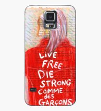 Live Free Die Strong Case/Skin for Samsung Galaxy