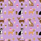 Chihuahua dog breed ice cream cone summer cute pet gifts chihuahuas by PetFriendly