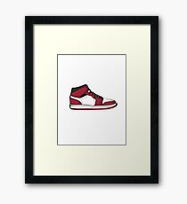 Nike Air Jordan 1 Framed Print