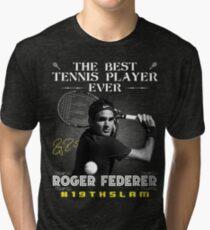 Roger Federer The Best Tennis Player Tri-blend T-Shirt