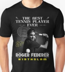 Roger Federer The Best Tennis Player Unisex T-Shirt