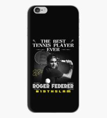 Roger Federer The Best Tennis Player iPhone Case