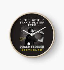 Roger Federer The Best Tennis Player Clock