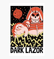 DARK LAZOR Photographic Print