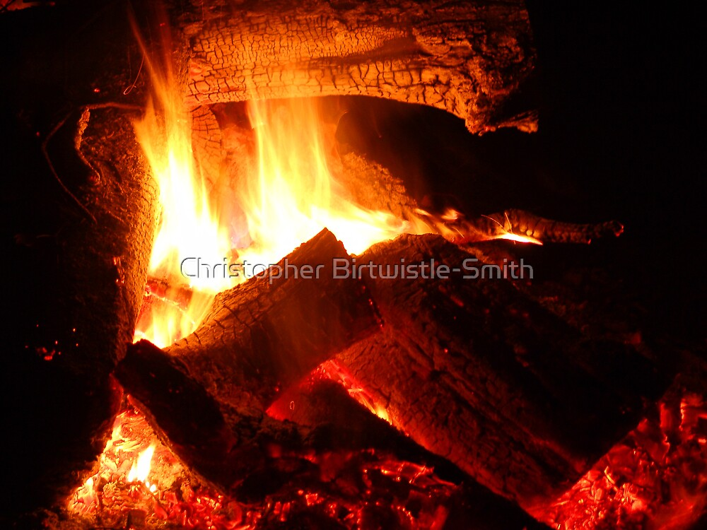 inside the campfire by Christopher Birtwistle-Smith