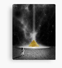 Space Pyramid (Sci Fi) Canvas Print