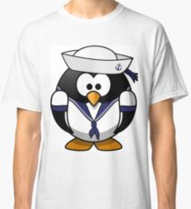 The Sailor Penguin Classic T-Shirt
