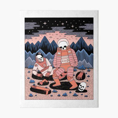 Death in Space  Art Board Print