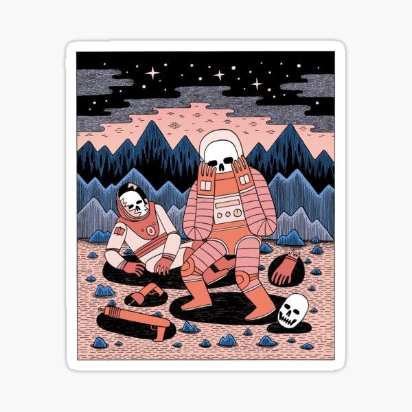 Death in Space  Sticker