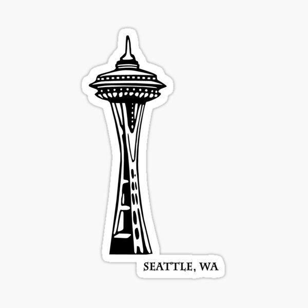 Seattle, Washington's Space Needle Sticker