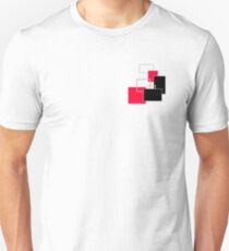 Layers Geometric Design T-Shirt