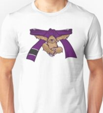 Sloth Jiu Jitsu Shirt BJJ Purple Belt Unisex T-Shirt