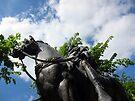 Emperor Nerva statue, Gloucester, UK by David Carton
