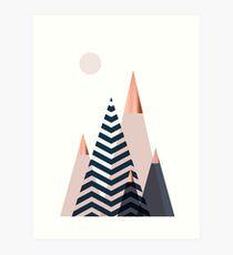 Scandinavian Mountains Art Print
