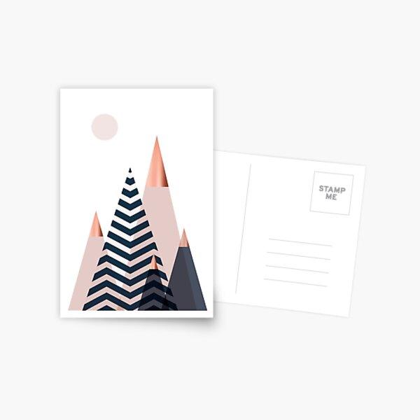 Scandinavian Mountains Postcard