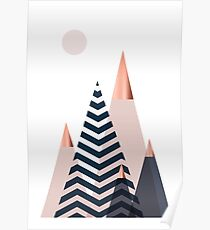Scandinavian Mountains Poster