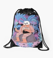 The Second Cycle  Drawstring Bag