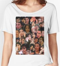 Kardashian's Crying Collage  Women's Relaxed Fit T-Shirt