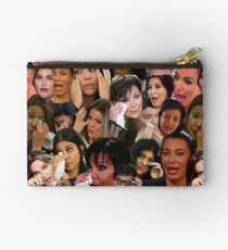 Kardashian's Crying Collage  Studio Pouch