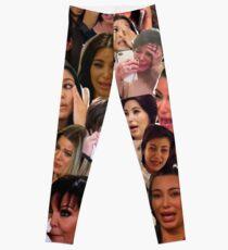 Kardashian's Crying Collage  Leggings