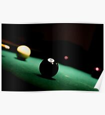 Eight Ball Pool Game Poster