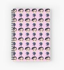 Yuri Katsuki Stay Close to Me Chibi <3 Spiral Notebook