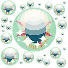 Are You Wise Bubble Eyes by raidendaigo