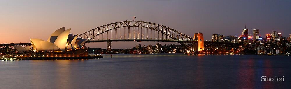 Sydney Harbour Panorama by Gino Iori