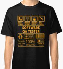 SOFTWARE QA TESTER - NICE DESIGN 2017 Classic T-Shirt