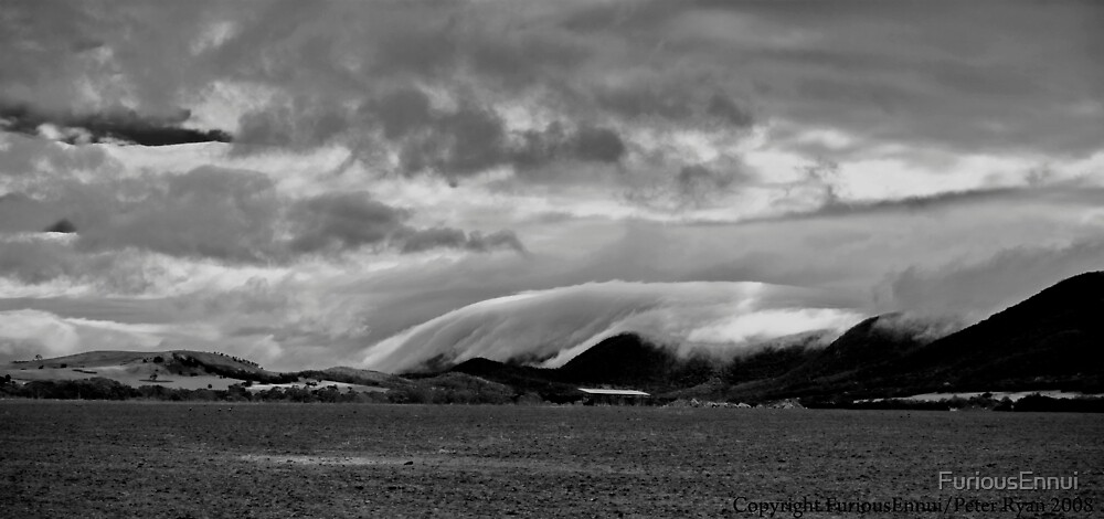 Cloudbank on the Pyrenees, Victoria by FuriousEnnui