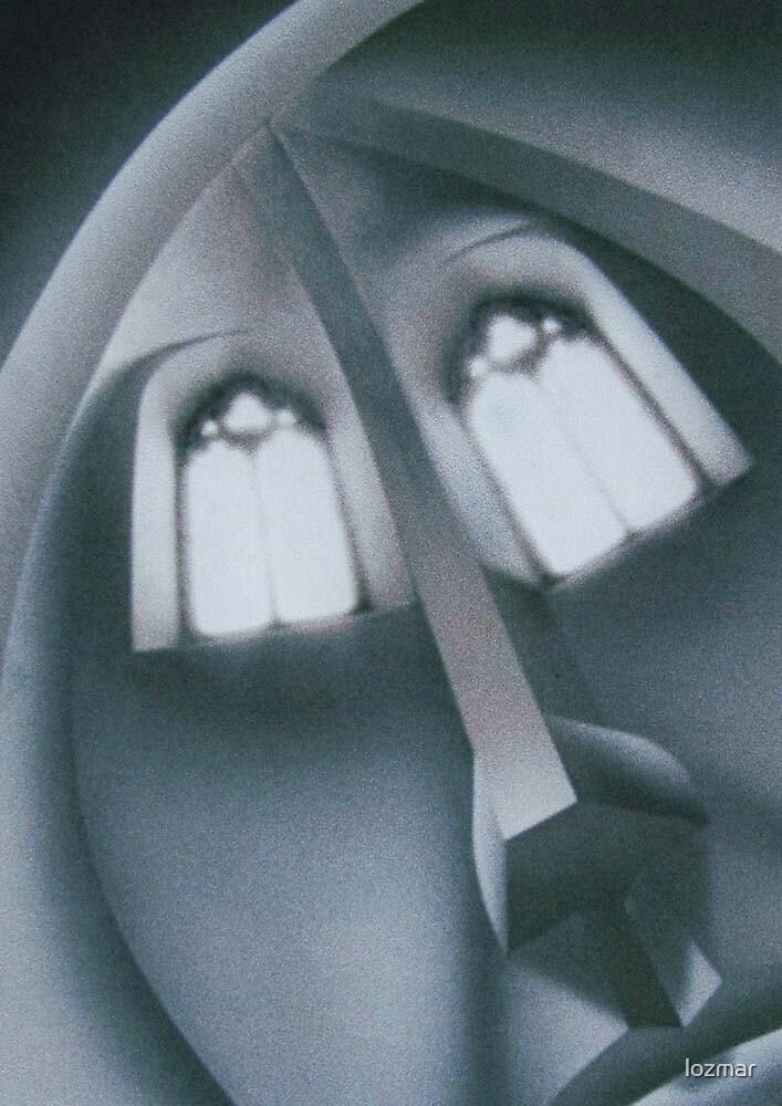 'A Face in Church' by lozmar