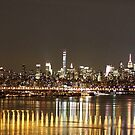 New York City at Night by Karl R. Martin